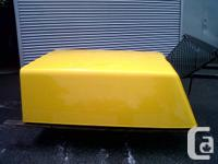 New body Chev Extra Short box canopy. PAINTABLE.  COME