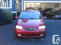 Make Chevrolet Model Aveo5 2007 Chevrolet Aveo5 LS ,