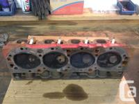 Big block chev / oval port / open chamber cylinder