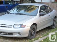 Make. Chevrolet. Version. Cavalier. Year. 2003.