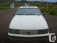 Make Chevrolet Model Cavalier Year 1991 Colour white