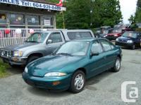Make. Chevrolet. Design. Cavalier. Year. 1998. Colour.