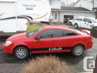Make Chevrolet Model Cobalt Year 2005 Colour red kms