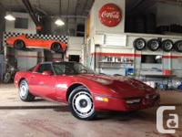 1984 Chevy Corvette. 1 st year for the C4. L83 350