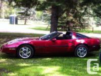 Make Chevrolet Design Corvette Year 1989 Colour maroon