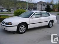 Chevrolet Impala, 2004, white, 4 door Owner purchased