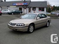 2002 Chevrolet Impala. Front Wheel Drive. 199 561