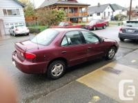 Make Chevrolet Model Cavalier Year 2004 Colour red kms