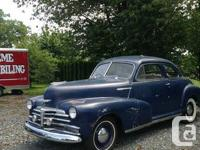 1948 Chevrolet Fleet Master Business Coupe. 8000.00