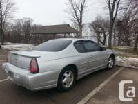 Fully loaded 2001 Chevrolet Monte Carlo SS 2-door 3.8L