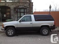 Chevrolet Tahoe 1997, 4x4, 2 doors,5.7 litres,350