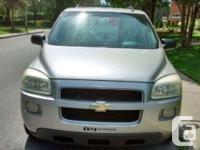 Make Chevrolet Model Uplander Year 2005 Colour silver