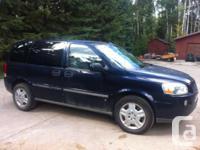 Make. Chevrolet. Version. Uplander. Year. 2007.