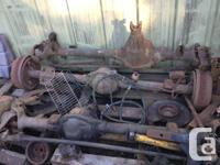 Chevy 1/2 ton diffs for parts, Dana 44, 10 bolt,