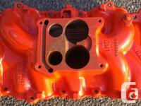 Intake Manifold (#3883948) for 66-68 Chevelle, Camaro,