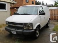 Make Chevrolet Model Astro Cargo Van Year 2005 Colour