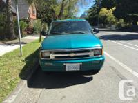 Make Chevrolet Year 1996 Colour green Trans Automatic