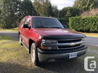 Make Chevrolet Model Tahoe Year 2005 Colour Red kms
