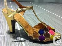 I am selling a pair of Chie Mihara sandals, size 8.5.