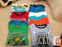 Child's Dimension 8 (medium) Summer Shirts. 5 polos. 7