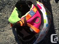 Child's size small (51-54cm) ski/snowboard helmets we