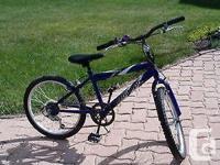 child bike rave zoom triumph, the bike is a medium size