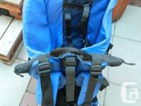 I have for sale a Child Carrier made by Tough traveler.