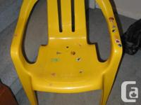 1. Folding chair purple: Excellent condition Heavy duty