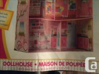 This is a great doll house for barbies or other