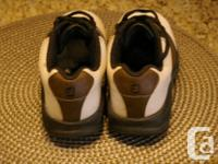 One pair of very gently used Classic Foot Joy design