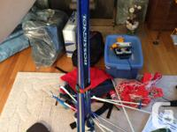 For Sale: -Rossignol LTS jr. Skis with Salomon Bindings