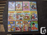 Offering a collection of 12 kids DVD's All in excellent