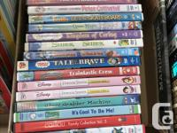 DVDs: -Strawberry Shortcake - $2 each or box for $30