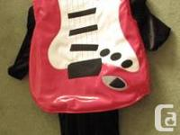 This great guitar costume is perfect for halloween,
