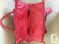 Red Chinese Laundry bag for sale. 2 large zippered