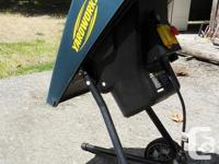 Yardwork Electric Chipper-Shredder for sale. We have