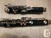 I have for sale a Yamaha YCL 20 student clarinet in