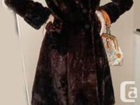 Christian Dior Mink Coat Elegant, soft and warm ladies