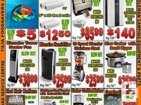 Great Deals on :  FoodSaver V300- $25.99   SCRATCH/DENT