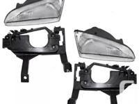Aftermarket replacement Pair of Headlight Assemblies