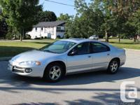 Chrysler Intrepid SE. Silver. Four-door sedan.