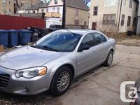 Chrysler Sebring Touring Lxi, Sports Edition. Keyless