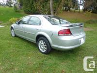 Make. Chrysler. Version. Sebring. Year. 2004. Colour.