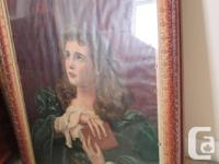 Frame and photo are over 100 years old! It measures