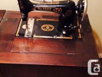 Circa 1932 Westinghouse Electric Sewing Machine comes