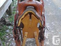 As new 16.5 inch Cloud Peak Treeless Trail Saddle by