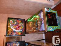 1997 Cirqus Voltaire pinball machine. Fully functional.