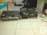 Cisco Switches and routers. Also CCNA study material