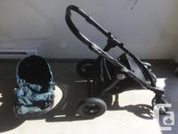 Stroller in good condition. Well-used but still many