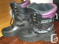 CKX snowmobile boots Size 11-12 These boots are super